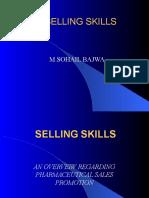 478099 Selling Skills Pharmaceutical