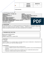 Plan Analitico y Sintetico Sistemas Cad