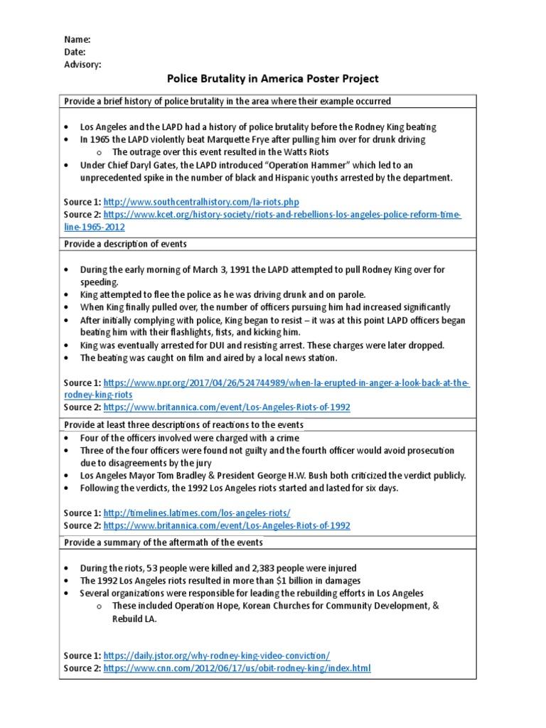 the watts riots summary