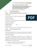 4.-Especificaciones Tecnicas Mitigacion Ambiental