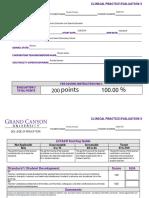 clinical practice evaluation 3- jordan