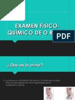 Presentación Examen Físico Químico de Orinas