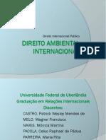 DIP - Direito Ambiental Internacional