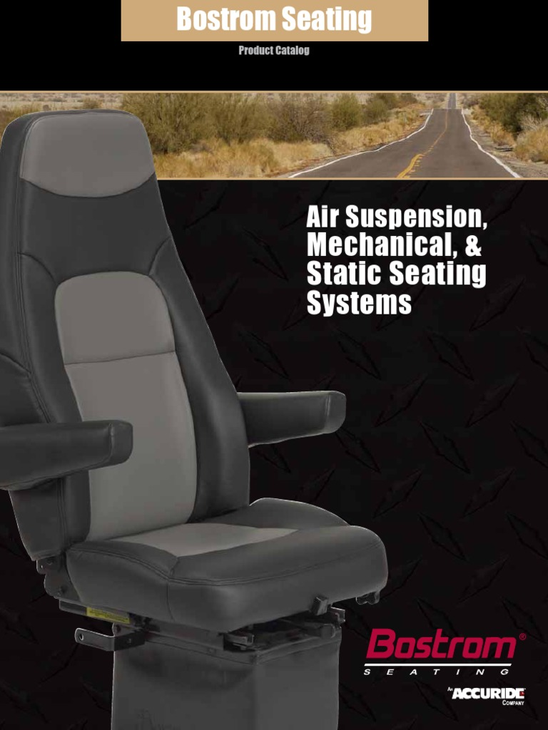 Bostrom Seating | Suspension (Vehicle) | Wheeled Vehicles