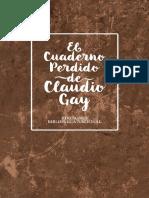 El Cuaderno Perdido de Claudio Gay