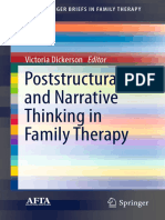 (AFTA SpringerBriefs in Family Therapy) Victoria Dickerson (Eds.)-Poststructural and Narrative Thinking in Family Therapy-Springer International Publishing (2016)