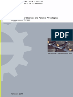 2011 Ph.D. - Technologies for Wearable and Portable Physiological Measurement Devices