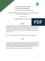 Informe Bioquimica Reconocimiento de Biomoleculas