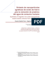 Síntesis de nanopartículas magnéticas de óxido de hierro para la remoción de arsénico del agua de consumo humano.pdf