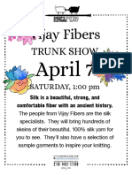 April Classes and Events