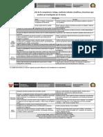Matriz de Indicadores Competencia 1 2014 Dic 29-Secundaria