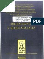 """2002.a. """"Inmigración y Racismo en Europa y España"""" en Migraciones y Redes Sociales Págs.61-80"""