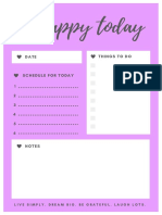 Syifa's Daily Planner