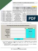 TP6 – Création d'Un Formulaire Personnalisé