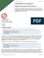 APACHE - Issues Regarding DNS and Apache HTTP Server - Apache HTTP Server Version 2.4