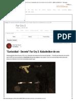 _Curiosidad - Secreto_ Far Cry 2_ Kalashnikov de Oro en El Foro Far Cry 2 de PC - 2008-12-25 00-42-17 - 3DJuegos