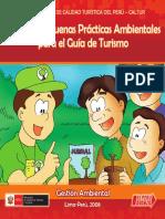 Manual de Buenas Practicas Ambientales Para El Guia de Turismo