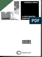 Patrice Pavis - A Encenação Contemporânea