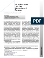 A Decade of Advances in Treatment for Advanced Non-Small Cell Lung Cancer