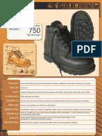 Segurihigiene Calzado Industrial Segurihigiene Calzado de Seguridad e Industrial Segurihigiene Ficha Tecnica Del Modelo 750 989978