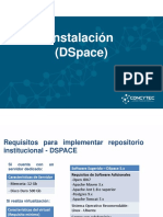 ALICIA Instalación DSpace