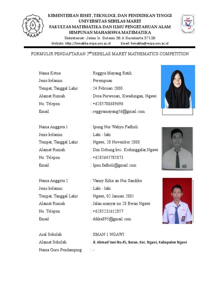 Formulir Pendaftaran Smart Mc - Copy