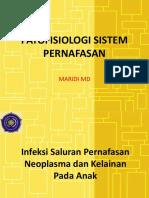 Patofisiologi Sistem Pernafasan