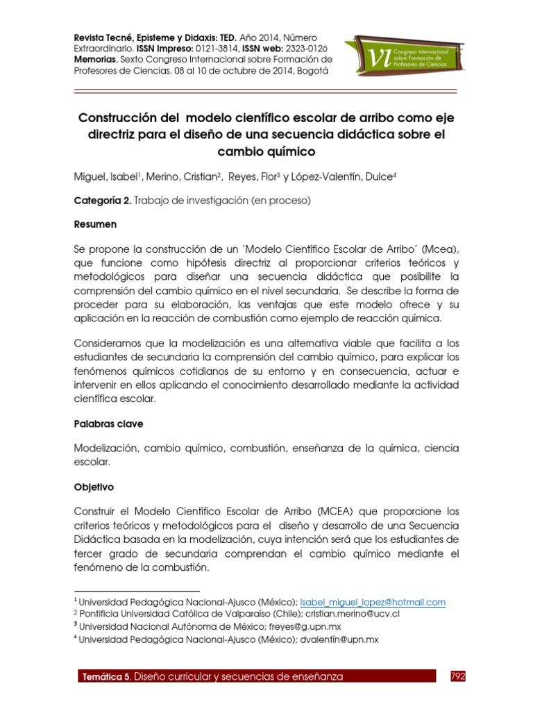 Atractivo Objetivo De Reanudar Químico Molde - Ejemplo De Colección ...