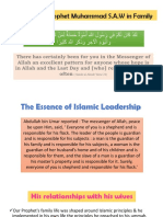 Leadership in Prophet Muhammad