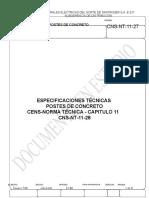 Informacion de Poste (Norma Colombiana)