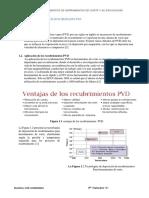 Recubrimientos Metálicos Mediante PVD
