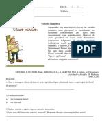 Docente Ricardo - Variação Linguística Educação Infantil (Básica) ao Ensino Superior.