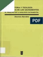 BOROBIO, D., Historia y Teologia Comparada de Los Sacramentos, 2012