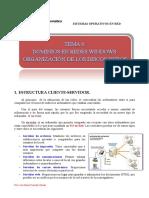 Tema 6. Dominios en Windows Server