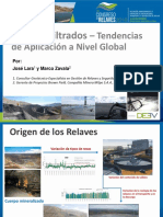 3. Relaves Filtrados - Tendencias Aplicaciòn a Nivel Global - M. Zavala, JLLara-Milpo