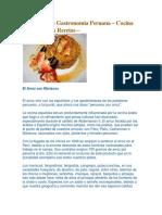 Historia de la Gastronomía Peruana.docx