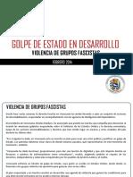 Golpe de Estado en Desarrollo Venezuela 2014