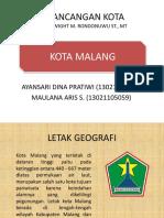 Penerapan Teori Perancangan Hamid Shirvani Di Kota Malang