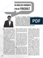 Por Un Análisis Dinámico Apartir de Foucault