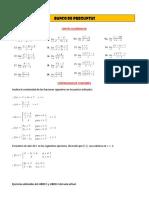 Banco de Preguntas Matematica i