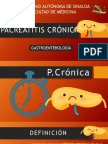 PACREATITIS CRÓNICA