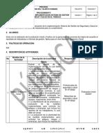 Procedimiento Evaluacion de La Implementacion Sgsst