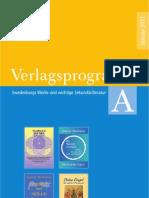 Swedenborg Verlag   Verlagsprogramm A   Januar 2011