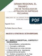 Analisis de Estructura Sector Agropecuario