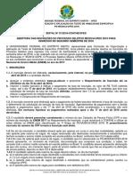 PS2018 Edital 01 Abertura