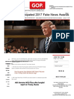 The Highly Anticipated 2017 Fake News Awards GOP