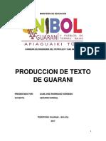 Guarani Libro