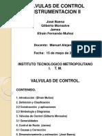 Presentacion Valvulas de Controlefrain