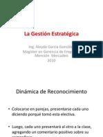 La Gestión Estratégica - Introducción
