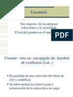 Historia Del Coleccionismo y Los Museos